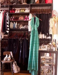 A Look Inside Style A-Lister Closets!