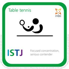 ISTJ - table tennis https://www.opp.com/en/Using-Type/Sports-Type-table