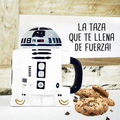 """¡PiiPppIIiII! TrrRRTPPIIii..."". A R2-D2 también le gusta esta taza. #taza #starwars"