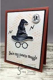 So Suzy Stamps Harry Potter stamps Harry Potter Karten, Harry Potter Cards, Cumpleaños Harry Potter, Creative Birthday Cards, Handmade Birthday Cards, Happy Birthday Cards, Diy Birthday, Scrapbooking Harry Potter, Casas Do Harry Potter