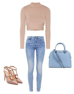 """Без названия #1"" by roxanammk on Polyvore featuring мода, Jonathan Simkhai, G-Star, Valentino и Michael Kors"