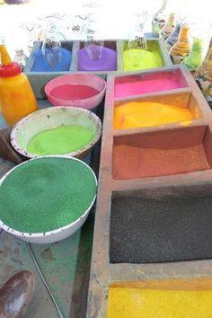 pretty colourful sand in Egypt Egypt, Chair, Pretty, Travel, Furniture, Home Decor, Viajes, Traveling, Stool