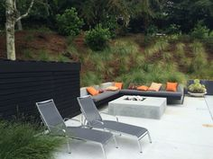 Outer Space Landscape Architecture   San Francisco Bay Area   Portfolio   hillsborough modern<
