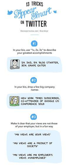 13 trucos para parecer 'cool' en Twitter