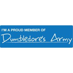 Bumper Stickers > Movies > Harry Potter ❤ liked on Polyvore