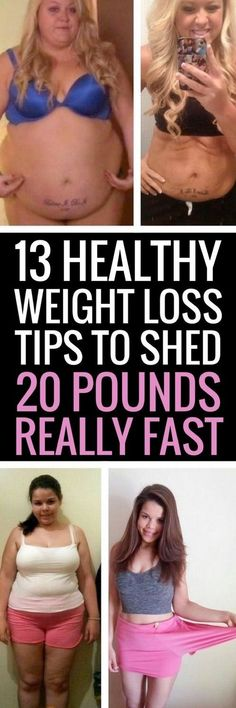 13 healthy ways to lose weight for good.