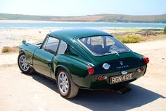 Triumph GT6 Mk1 - perfect transport to the beach....... www.tssc.org.uk