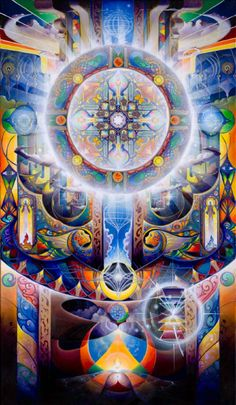 Sweet looking art. Feels religious but I don't want it to be the last name of the artist or the name of the piece that influence my decision. What do you all think?  Michael Divine / Sacred Geometry <3