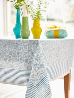 Hand Block Printed Leaf Tablecloth | Block Printed Items | Pinterest | Block  Prints And Kitchens