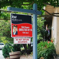 Just saw this sign around town for those of you looking for a good realtor to buy or sell a house. I heard this Matt guy is the best!!