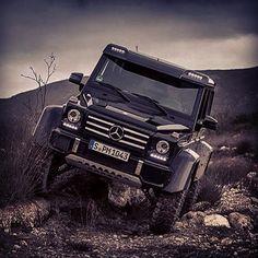 Mercedes-Benz G500 4x4 Squared at blessthisstuff.com #mercedes #g500 #car #carporn #blessthisstuff #4x4 #offroad #adventure #jeep