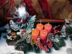 Dobozos adventi mikulás díszítéssel megvásárolható Bp XXIII. kerületben Advent, Painting, Art, Art Background, Painting Art, Kunst, Paintings, Performing Arts, Painted Canvas