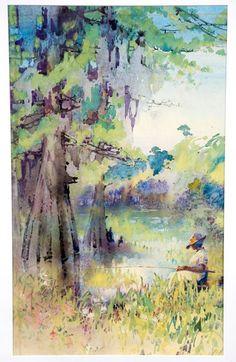 Early 20th-Century Alice Ravenel Huger Smith Watercolor