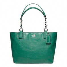 MADISON LEATHER TOTE! Cannot decide if I want this one.......or