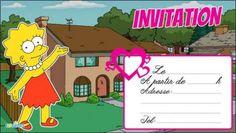 Football cartes et invitations gratuites 123 cartes iseha 39 s party plans pinterest - Carte anniversaire simpson ...