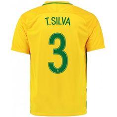 2016 Brazil Soccer Team Socrates 8 Home Replica Jersey 110fab1dc