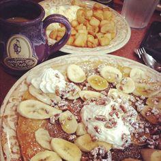 Coming to Grand Boulevard in Fall 2014!  #AnotherBrokenEgg #brunch #bananasfoster #pancake #pecans #whippedcream  Photo credit: @Brenda Hernandez via Instagram