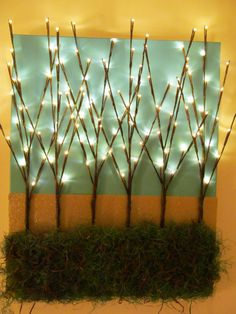 Lighted branch project