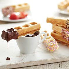 Sweet Treats Waffle Stick Maker - we are hugely amused by this at the moment!