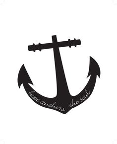 #anchor #hope anchors the #soul #printable by WhisperWillowDesignz $5.00
