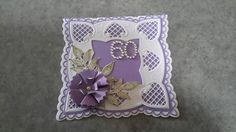 Made by noreen meekins for friends 60th using Marianne die