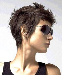 Funky Short Haircuts, Pictures Of Short Haircuts, Popular Short Hairstyles, Short Haircut Styles, Girl Haircuts, Easy Hairstyles, Pixie Hairstyles, Toddler Hairstyles, Hairstyle Short