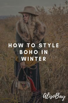 New fashion style boho winter hippie 57 ideas Boho Fashion Winter, Winter Fashion Outfits, Boho Outfits, Bohemian Fashion, Bohemian Winter Style, Fashion Edgy, Fashion Styles, Fashion Clothes, Fashion Tips