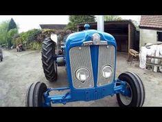 Fordson Super Major walk around New Tractor, Classic Tractor, Ford Tractors, Vintage Tractors, Classic Cartoons, Farming, Youtube, Nice, Vehicles