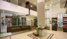 Modern pharmacy in Corfu island