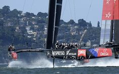 Sir Ben Ainslie: Even though we are losing it is a thrill to be sailing in the America's Cup for Oracle Team USA  - Telegraph
