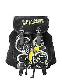HOTTOPIC.COM - 5 Seconds Of Summer Symbols Slouch Backpack
