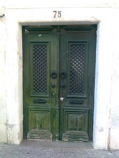 porta em Alcobaça,Portugal