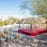 Hindu Wedding at Desert Botanical Garden, Dorrance Center, November 25th, 2012   Wedding Planner: Apropos Creations  Mandap on Boppart Courtyard