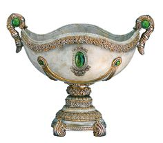 Esmerald Decorative Fruit Bowl