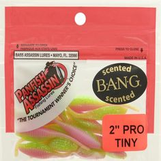Bass Assassin Lures Pro Tiny Shad, Electric Chicken, 2-Inch -- Find out more about the great product at the image link.