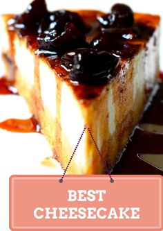 Find the best recipe for a perfect Cheesecake! So delicious and so simple!