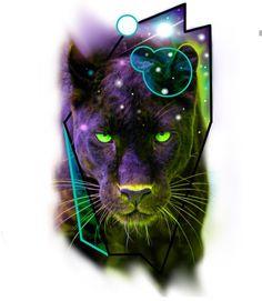 Tiger Tattoo, Lion Tattoo, Cat Tattoo, Big Cats Art, Cat Art, Tiger Art, Animal Tattoos, Chicano, Black Panther