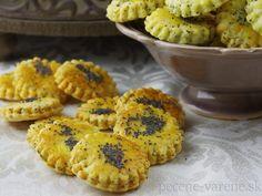 Syrovo-makové krekry Muffin, Breakfast, Food, Basket, Morning Coffee, Essen, Muffins, Meals, Cupcakes