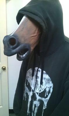 Fuck yeah, horse masks!!
