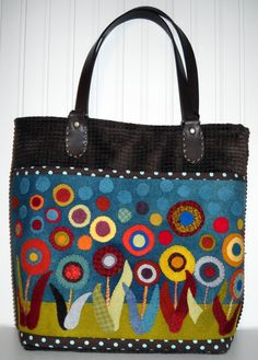 Lolly Bag Purse pattern by kerrystitchdesigns on Etsy, $9.00