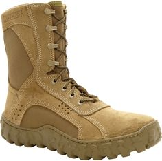 104 Rocky Men's S2V Ventilated Military Duty Boots - Brown