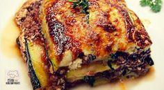 Low-Carb Zucchini-Lasagne - Rezepte ohne Kohlenhydrate