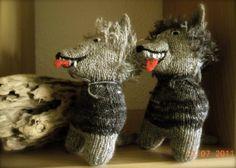 Wollfadengeschöpfe: Wölfe