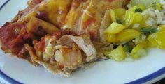 Chi Chi's Seafood Enchiladas - Make your favorite Restaurant & Starbucks recipes at home with Replica Recipes!