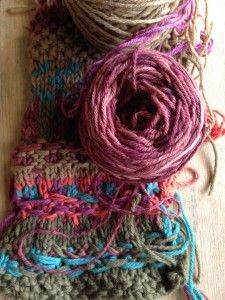 Harvest Wool - pure merino dyed naturally using plants by Timber and Twine