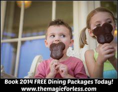 Free Disney Dining - book it now #disney  #freedining #disneydiscount