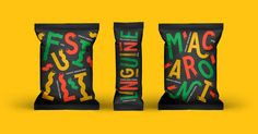 We Love This Fun Concept for Pasta Packaging and Branding — The Dieline | Packaging & Branding Design & Innovation News
