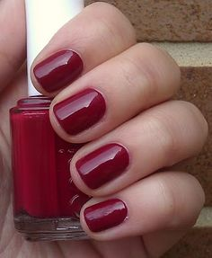 11.3.2012, todays nail colour I just put on; Essie Size Matters