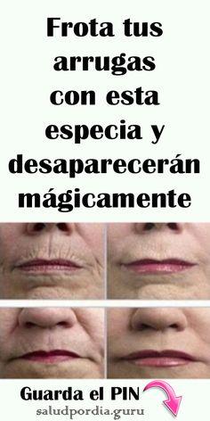 Frota tus arrugas con esta especia y desaparecerán mágicamente. #belleza #manchas #especia #arrugas