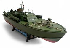 The Great Canadian Model Builders Web Page!: Motor Torpedo Boat PT-109